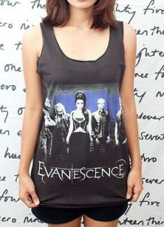 Evanescence Amy Lee Rock Roll Artist oo WOMEN T SHIRT DRESS Tank TOP