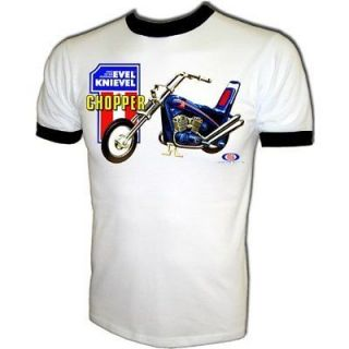 VTG Evel Knievel Ideal Harley Davidson #1 Chopper Promo Stunt Cycle