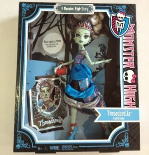 THREADARELLA Monster High Scary Tales Frankie Stein Doll X4486