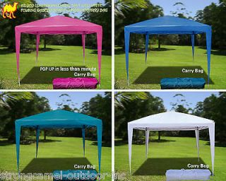 Ez pop up wedding party tent 10x10 folding gazebo beach canopy w carry