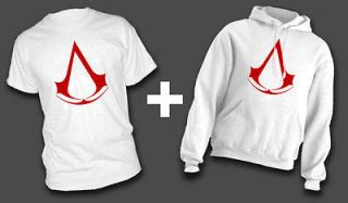 CREED * T SHIRT & HOODIE Combo! altair ezio etsio ALL SIZES IN STOCK