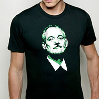 DARK BILL MURRAY keep calm and chive on kcco chivette T shirt WOMENS