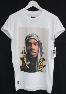 ACTUAL FACT A$AP ASAP ROCKY LEOPARD HEAD RAP HIP HOP TEE T SHIRT
