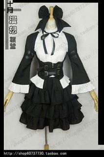 Fairy Tail Erza Scarlet Maid Cosplay Costume