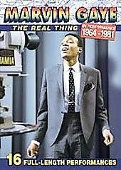 Marvin Gaye   Real Thing in Performance 1964   1981 DVD, 2006