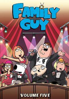 Family Guy   Volume 5 DVD, 2007, 3 Disc Set