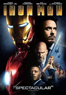Iron Man DVD, 2008, 2 Disc Set, Costco Iron Man Bobblehead Giftset