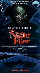 Stephen Kings The Night Flier VHS, 1998, Spanish Subtitled