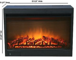 Brand New 23 Electric Fireplace Insert