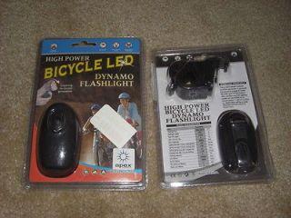 Hand powered Dynamo Flashlight Light   survival kit battery free
