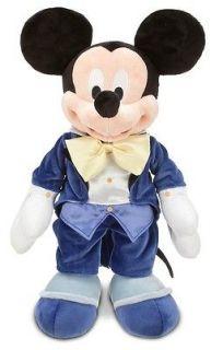 Star Day Mickey Mouse Club Stuffed Premium Plush Doll Tux Soft NEW