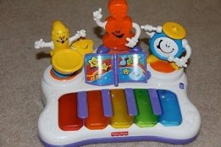 FISHER PRICE LITTLE SUPERSTAR JAMMIN BAND PIANO GENTLY USED