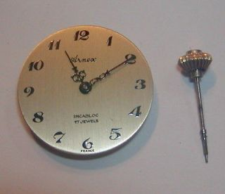 238A Movement w. ARNEX Pocket Watch Dial and Stem/Crown..Works..L@@K