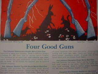 1927 Iver Johnson 4 Good Shoguns Huning Rifle Poser