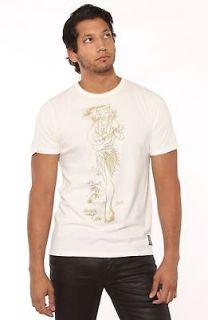 Sailor Jerry Mens Ukulele Lady Hula Girl Mens Tee Shirt