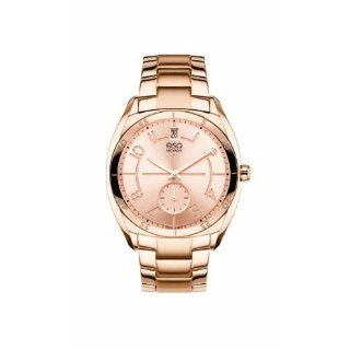 ORIGIN tm Tonneau Shaped Rose Gold Plated Watch Watches