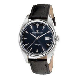 Revue Thommen Mens 16001.9197 Airspeed Chronograph Quartz Black Dial