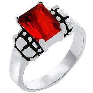 T20 Tqw11734ZGH David Yurman Inspired Deep Garnet Fashion Ring