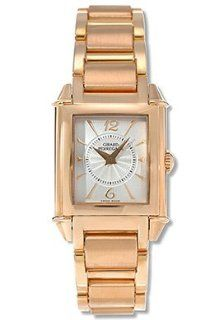 Girard Perregaux Vintage 1945 Ladies Quartz Watch 18K Rose Gold