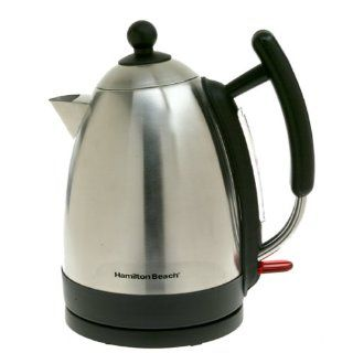 Hamilton Beach 40886 Stainless Steel Electric Cordless Kettle: