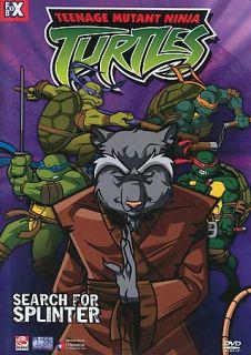 Teenage Mutant Ninja Turtles   Vol. 8 Search for Splinter DVD, 2004, Edited Edition