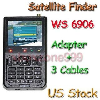SatLink WS 6906 DVB S FTA Digital Satellite Dish LNB Signal Finder
