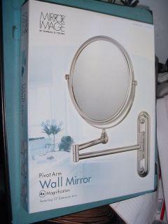 NEW Kimball Young Pivot Arm Wall Mirror Chrome 20644