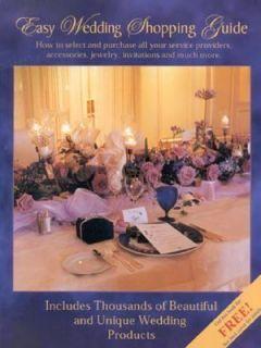 The Easy Wedding Shopping Guide by Alex Lluch and Elizabeth Lluch 2001