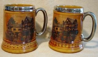 Vintage Lord Nelson Pottery Stein Tankard Mug England 8 69