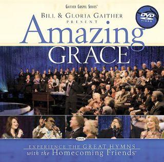 Bill Gloria Gaither   Amazing Grace DVD, 2007, Jewel