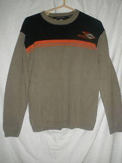 Harley Davidson Mens Sweater Small Awesome Condition