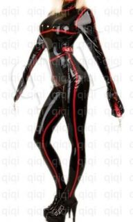100% Latex/rubber/0​.8mm catsuit/suit/b​inder/glove/co​stume