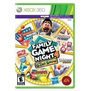 Hasbro Family Game Night 4 The Game Show Xbox 360, 2011