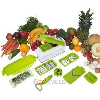 Fruit Vegetable Nicer Dicer Plus Cutter Chop Peeler Chopper Kitchen