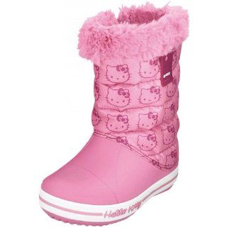 Crocs Hello Kitty Gust Boot, pink lemonade  Schuhe