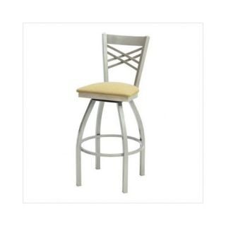 Grand Rapids Chair Melissa Anne Cross Back Swivel Barstool (24   36