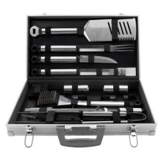 Mr. Bar B Q Inc. 21 pc. Stainless Steel BBQ Tool Set product details