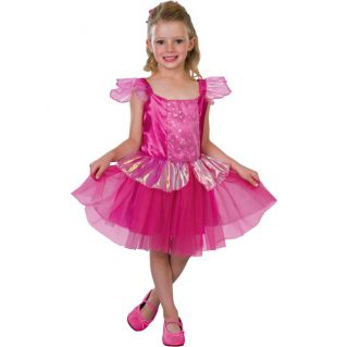 Girls Ballerina Princess Costume product details page