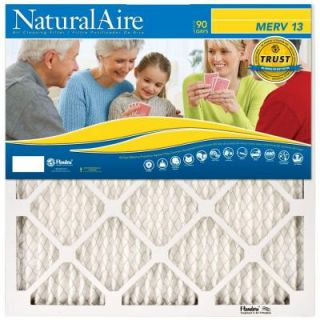 12 in. x 18 in. x 1 in. MERV 13 Pleated Air Filter, Case of 12 95003
