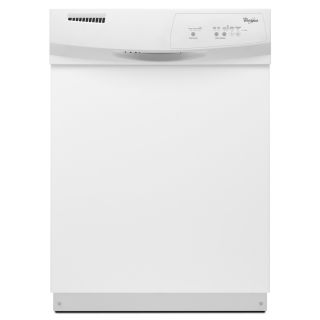Shop Whirlpool 24 in Built In Dishwasher (White) ENERGY STAR at Lowes