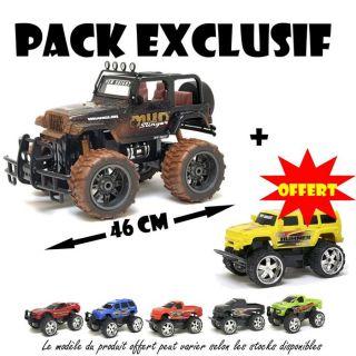 RADIOCOMMANDE TERRESTRE Pack Exclu Radioco Jeep + Custom Cruise OFFERT