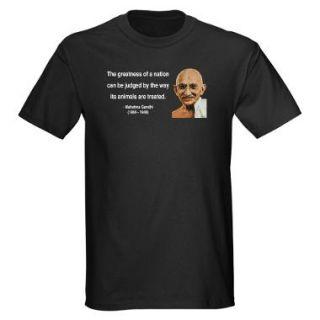 Ghandi Animal Quote Gifts & Merchandise  Ghandi Animal Quote Gift