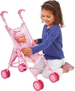 Buy Chad Valley Baby to Love Dolls Pushchair at Argos.co.uk   Your