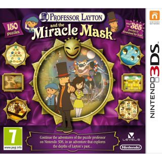 Play   Buy Professor Layton And The Miracle Mask (3DS) online at