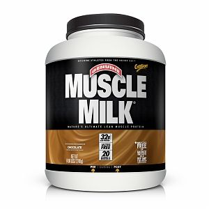 CytoSport Muscle Milk Protein Powder, Chocolate Milk 4.96 lb (2250 g)