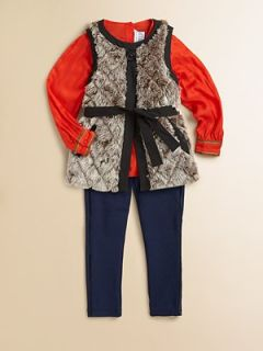 Little Marc Jacobs   Toddlers & Little Girls Faux Fur Vest   Saks
