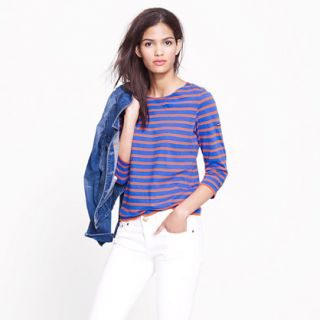 Saint James® Galathée tee   Saint James   Womens j.crew in good