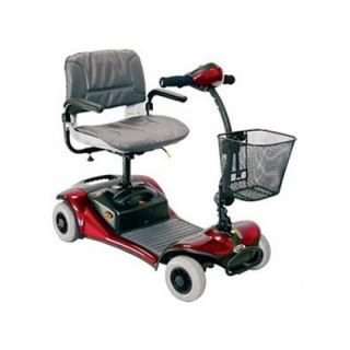 Shoprider Dasher 4 Wheel Portable Scooter  Wayfair