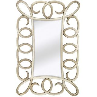 Majestic Mirror Contemporary Beveled Mirror in Antique Silver   2078