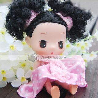 Wholesale Cute Cartoon Ddung Fairy Afro Dolls   DinoDirect